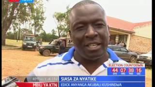 Eric Anyanga akubali kushindwa kwenye mchujo wa marudio kwenye eneo bunge la Nyatike