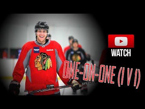Patrick Kane Plays One on One (1v1) NHL Hockey. [HD]