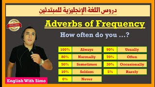 Adverbs of Indefinite Frequency | English With Simo (دروس الإنجليزية للمبتدئين)