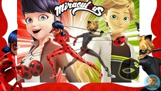 Miraculous Ladybug Puzzle - Miraculous Ladybug and Cat Noir jigsaw puzzle games for kids - 4jvideo