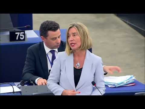 Speech on migration by HR/VP Mogherini at the EP plenary session