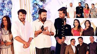Maniyanpilla Raju's Son Sachin Marriage Reception | Mammootty | Mohanlal | Jayaram