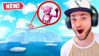 GLITCHING to the *SEASON 7* ICEBERG in Fortnite!