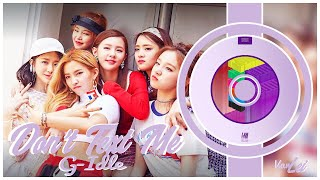 (G)I-DLE ((여자)아이들) – Don't Text Me | 8D AUDIO | USE HEADPHONES |