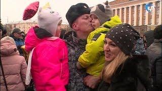 Из полугодовой командировки на Северный Кавказ вернулся сводный отряд новгородской полиции