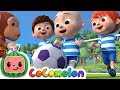 The Soccer football Song Cocomelon Nursery Rhymes amp K