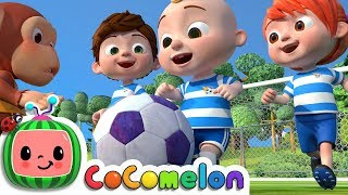The Soccer Song (Football Song) | CoCoMelon Nursery Rhymes & Kids Songs