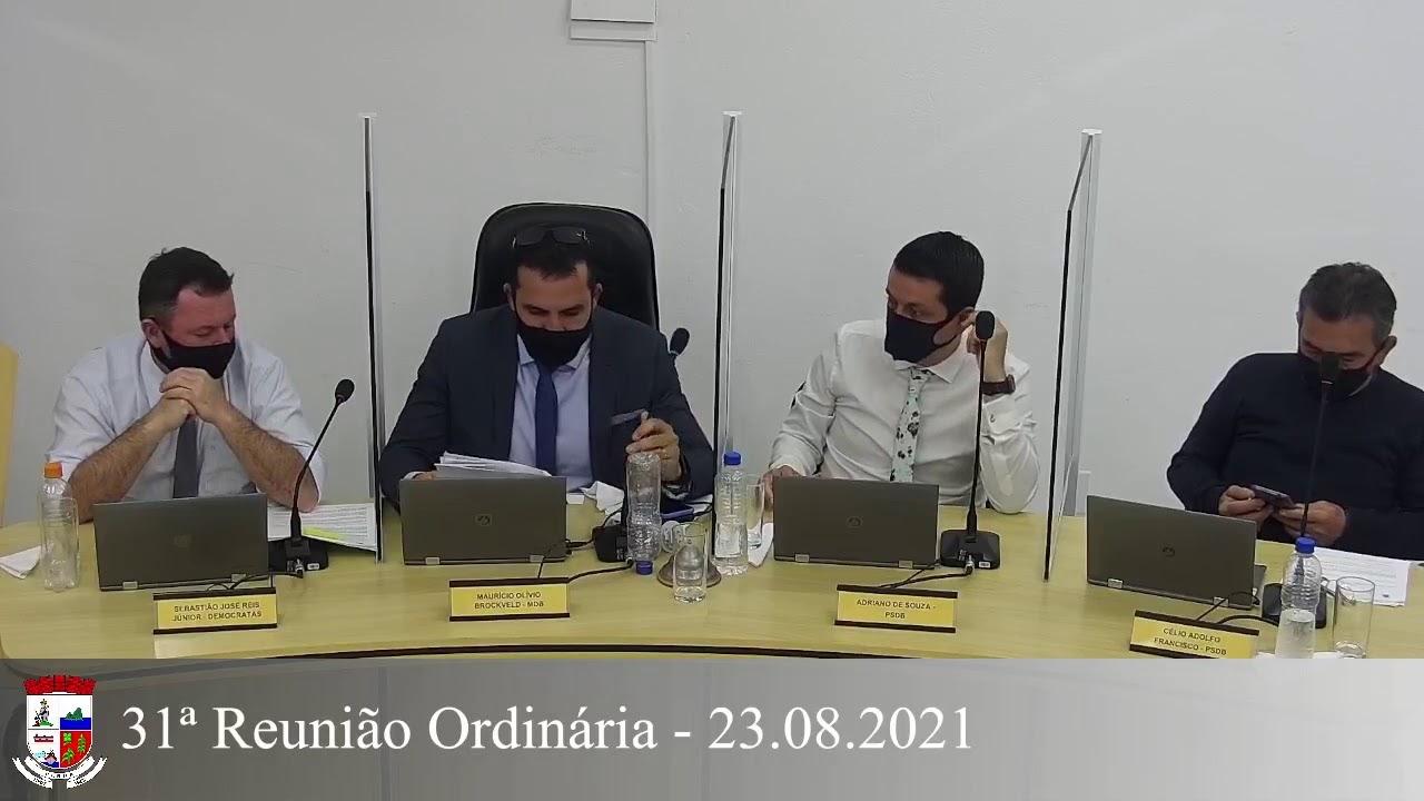 31ª Reunião Ordinária