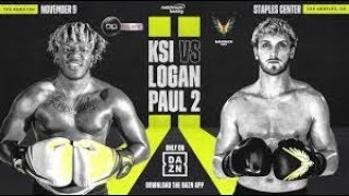 KSI V.S Logan Paul Rematch Highlights - KSI WINS!!!