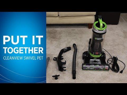 Cleanview 174 Swivel Pet Vacuum 2316 Bissell Vacuum Cleaners
