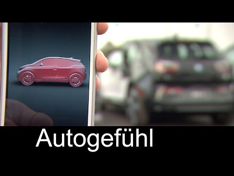 BMW Bumper Detect & Gesture Control Parking for BMW i3 - Autogefühl