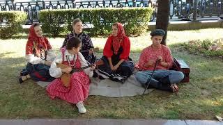 Русские народные песни на фестивале Времена и эпохи