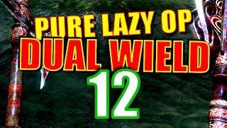 Skyrim Pure Lazy OP Dual Wield Walkthrough Part 12: Speech Check Challenge Run 1