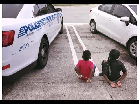 KIDS CAUGHT STEALING AT WALMART (GOING TO JAIL PRANK)