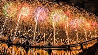 [4K]長岡花火大会2018復興祈願花火フェニックス-NagaokaFireworksFestival2018Phoenix-shotonSamsungNX1