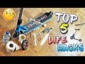 TOP 5 EASY SCOOTER LIFE HACKS!
