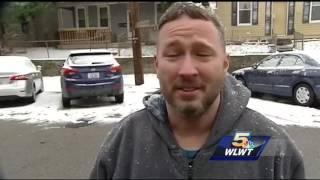 First snow of 2017 blankets Cincinnati