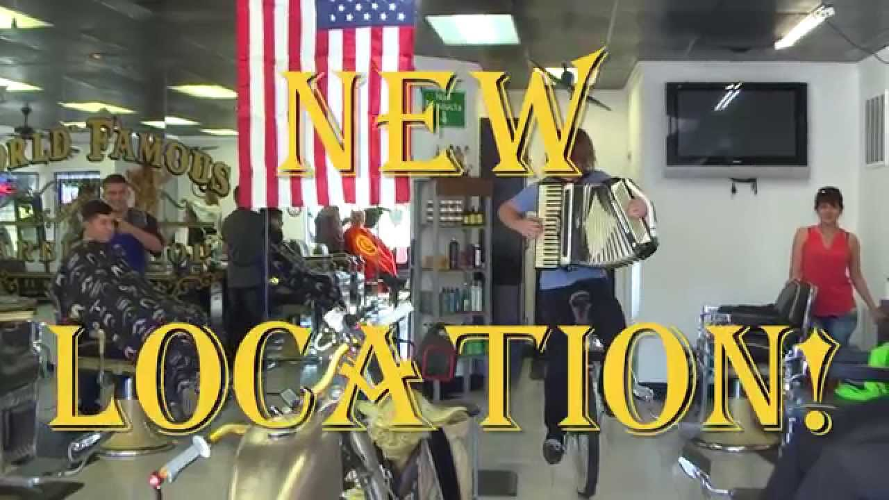 New Location Promo - World Famous Barber Jon's - El Dorado Hills, CA