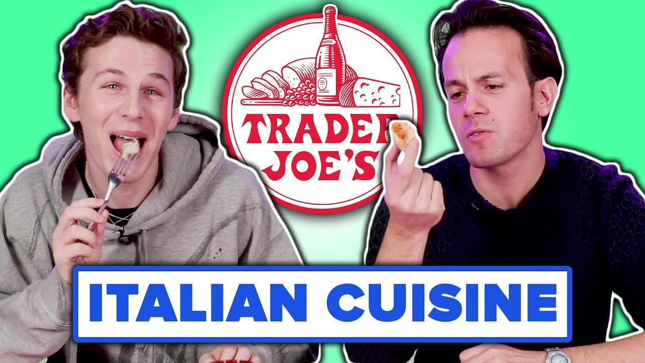 Italian People Taste Test Trader Joe's Italian Food thumbnail