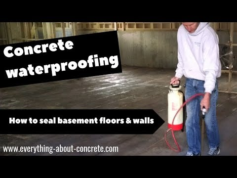 How To Seal and Waterproof Your Basement Floor and Walls