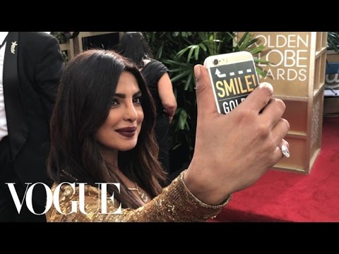 Emily Ratajkowski and Priyanka Chopra Go Inside the Golden Globes for the First Time Ever | Vogue