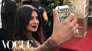 Emily Ratajkowski And Priyanka Chopra Go Inside The Golden Globes For The First Time Ever  Vogue
