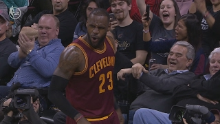 LeBron James Blows off Charles Barkley Steam with Dunks! Timberwolves vs Cavs
