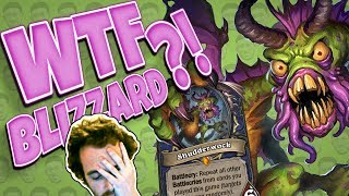 SHUDDERWOCK IS NUTS! Blizzard... Just... Why? - Standard Constructed - The Witchwood