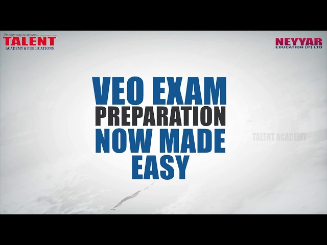 VEO (Village Extension Officer) Exam Rank File by Talent Academy