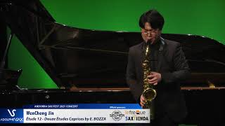 WenCheng Jin plays Étude 12 – Douze Études Caprices by Eugène BOZZA