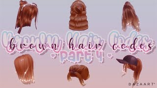 Ombre And Messy Brown Hair Codes! | Part 4 | Roblox Bloxburg