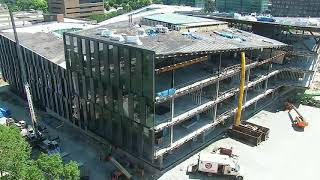 University of Cincinnati College of Business Construction Time Lapse