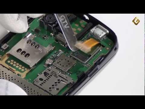 Nokia Asha 300 - как разобрать телефон и из чего он состоит