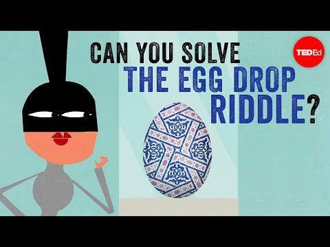 Can you solve the egg drop riddle? – Yossi Elran