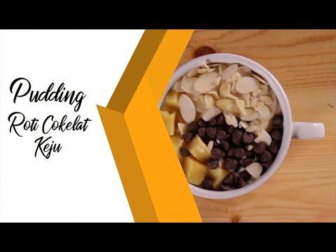 Pudding Roti Cokelat Keju, Nikmat dan Mengenyangkan