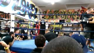 Muay Thai Fight At Team Florez Gym