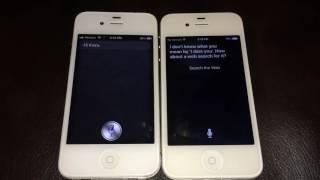 iOS 6 Siri Meets iOS 9 Siri