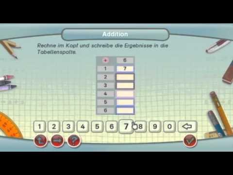 Lernerfolg Grundschule: Mathe Klasse 1-4 (Wii) - Innovatives Lernprogramm: Neu auf Nintendo Wii
