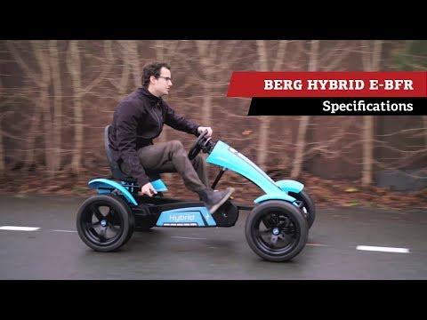 BERG Hybrid E-BFR pedal go-kart | specifications