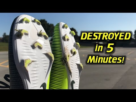 Parking Lot VS Soccer Cleats/Football Boots – NEVER DO THIS!