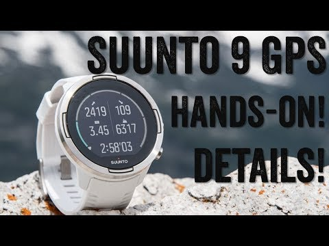 SUUNTO 9 GPS: Hands-on Details!