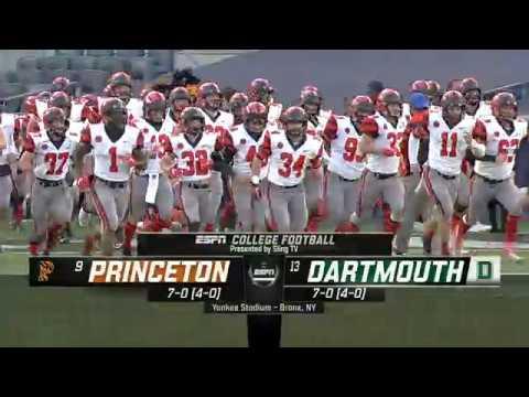 Football TV Highlights vs. Dartmouth
