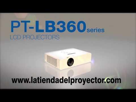 Proyectores Panasonic LB SERIES