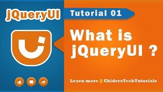 jquery ui video tutorial 01 - What is jQueryUI