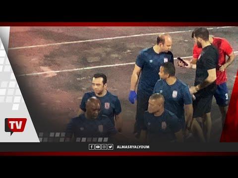 انفعال سيد عبدالحفيظ.. وحارس الأهلي يعرض فيديو للاعبين يثبت صحة الهدف الملغي بمرمى الطلائع