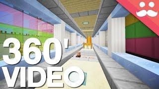 Minecraft: The Ultimate Redstone Corridor! [4K 360