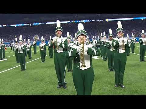 EMU Marching Band @ Ford Field 9/15/19
