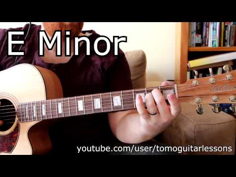 E Chords Guitar Lesson v.II