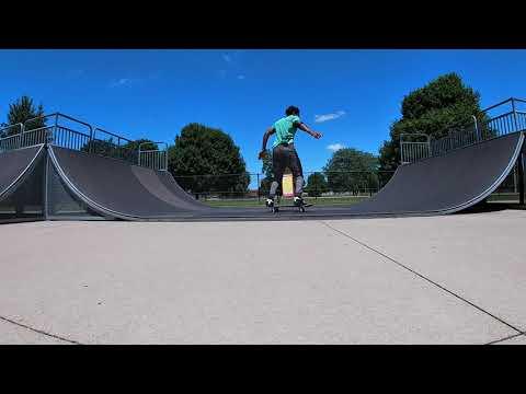 First time at Plainfield Skatepark!