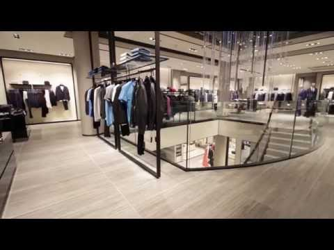 5. Canal Engineering | Helical Staircase Installation - Hugo Boss Regent Street London